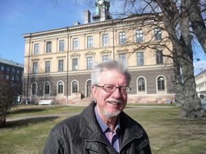 Peder Mellander, ordförande i Gävle Gille, är glad över att det ska bli hembygdsgård i Rådhuset.