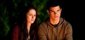 Kristen Stewart och Taylor Lautner i Twilight-filmen Eclipse.