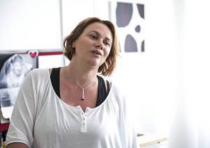 Madeleine Andersson, socialsekreterare, jobbar på Krami i Sundsvall.