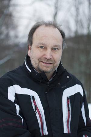 Peter Granåsen, ordförande i Timrå Snöskoterklubb tillika ordförande i Snofed.