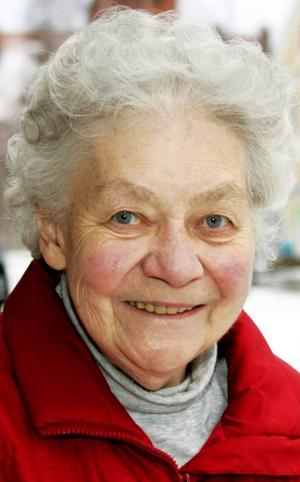 Ruth Henriksson,75 år, Lugnvik:– Nej, inget vidare. Jag orkar inte med snön. Den gör att det är jobbigt att gå, och det är kallt. Jag vill ju ha sommar och sol och värme.