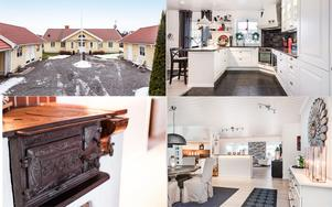 Enplansvilla i Söpnarby, Borlänge, med gästhus och egen brygga vid Dalälven.