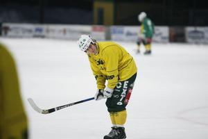 Jonas Pettersson nötte straffar som avslutning på LBK:s tisdagsträning.