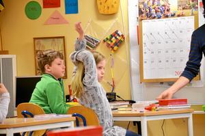 Pontus Ardeborg och Matilda Gerhardsson hade flera frågor till Magnus.