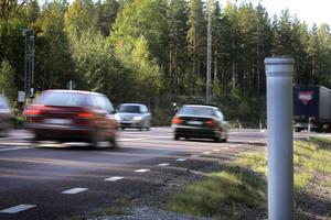 Nya fartkameror sätts upp på väg 301 mellan Alfta och Edsbyn.