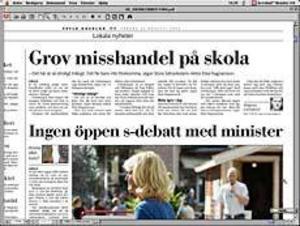 Ur Gefle Dagblad den 22 augusti.