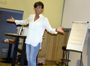 Christina Stielli fick publiken att kikna av skratt emellan åt. 2014 blev hon också utsedd till Årets talare.