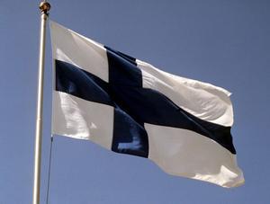 Finska flaggan.