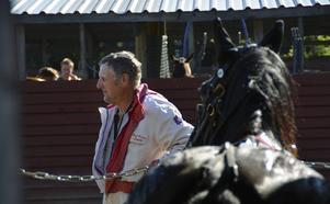Karl-Gunnar Löjdahl var på Ammeråtravet för andra året.