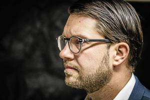Jimmie Åkesson leder ett splittrat parti.