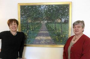 Anna Falkengren och Anna Karin Andersson föreläste när Dalarna Guide- och Kulturförening höll möte i Grangärde.