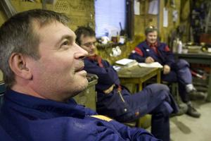 Jarl Nilsson är en av de som ska få nya arbetsuppgifter, då komponentverkstaden läggs ned.