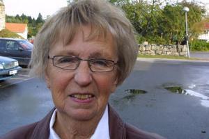 Sigyn Sjölund, 74 år, Ovansjö.–Jag väntar på älgkött som ska in i frysen så jag ratar svampen.