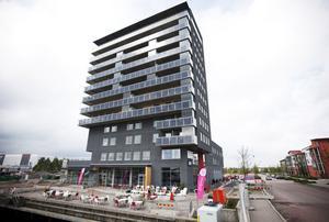 Här i Fullriggaren på Gävle Strand har landstinget startat en ny hälsocentral.