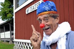 Barnasinnet kvar. Ove Hoffner ska nu, bland annat med hjälp av barnteater, få Alntorps ö att leva igen.