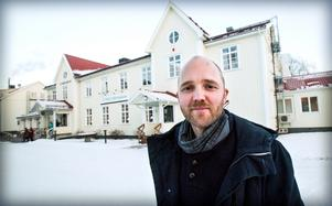 David Jonstad föreläste för en tid sedan på Hola Folkhögskola utanför Kramfors.