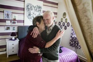 Numera bor de tillsammans i Ludvika, radiorelationen utvecklades blixtsnabbt till ett stadigt förhållande.