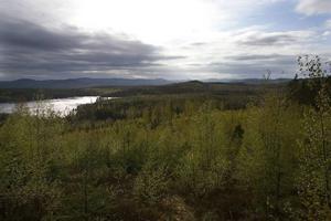 På berget invid Sumåssjön ska dagbrottet öppnas.