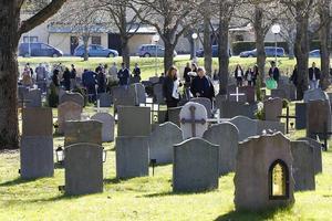 Många hade samlats på måndagen för att fira den syriskortodoxa annandag påsk.