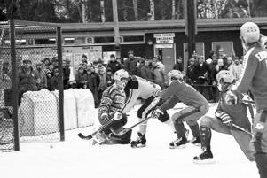Cupfinal på IP i Ljusdal 1978. Drygt 5000 åskådare såg Broberg sänka Ljusdal med 4–1.