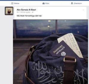 Ali Al-Ganas laddade upp bilden under sommaren 2014.