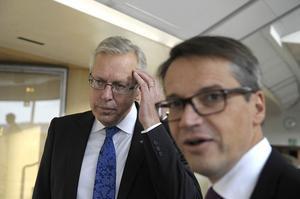 Mats Odell sa på måndagen att han vill ta över som partiledare efter Göran Hägglund.