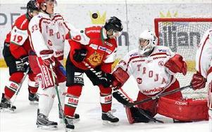 Markus Eriksson gör 4–0 till Mora.foto: Bons Nisse Andersson