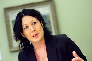 Katarina Nyberg Finn, s, ordförande i vård- och omsorgsnämnden i Östersund.