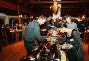 Restaurang Hov är en av länets anrika restauranger som nu serverar sitt traditionella julbord.