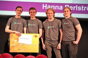 Sammy UF från Leksand blev årets UF-företag.