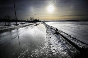 Vinterstaden smälter bort väldigt tidigt i år.