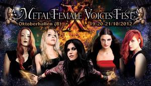 Endast metalband med kvinnliga frontfigurer är välkomna att spela vid