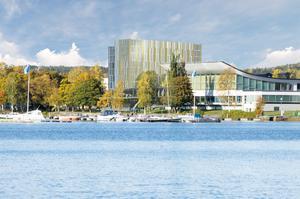 Det planerade hotellet på Kanaludden i Härnösand. Fotograf: TM Konsult.