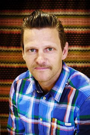 Jerker Bexelius är verksamhetschef på Gaaltije, Sydsamiskt kulturcentrum och initiativtagare till kulturfestivalen Saepmie Welcomes.