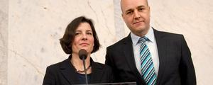Karin Enström (M) utsågs på onsdagen till ny försvarsminister av statsminister Fredrik Reinfeldt.