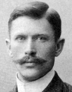 BOLLBEGÅVNING. Robert Carrick introducerade fotbollen i Gävle. Han var en mångsidig idrottsman och ledare inom Gefle IF.
