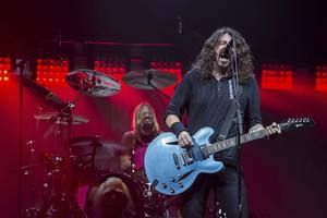 Dave Grohl från Foo Fighters.