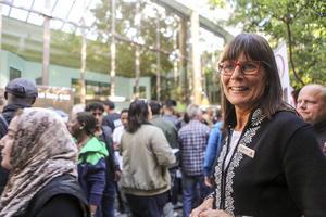 Anna Hansson, platschef på Storhogna, tog initiativet till jobbmässan. Hon hoppas på en fortsättning och utveckling av konceptet kommande år.