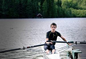 Anton Flodin är en av flera ungdomar som är med och tränar varje vecka.