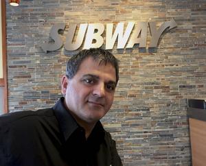 Rasoul Zarar, franchisetagare, hoppas att den nya Subway-restaurangen kan öppna i höst.