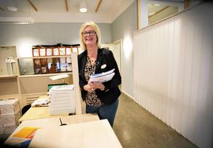 Evelyn Klöverstedt bemöter kritiken. Arkivbild