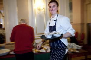 Matintresset hade Jonatan Norberg redan som liten parvel, berättar pappa Jan Norberg.