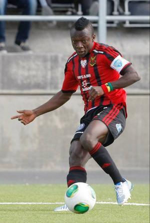 Thomas Boakye sköt 2–0 på en målvaktsretur och visade prov på sin snabbhet och fina teknik.