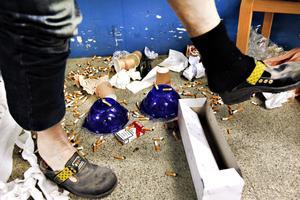 Kvinnan tackade nej till boendestöd. Men hon klarade inte av att städa själv. Snart uppstod kaos i lägenheten. OBS: Bilden är arrangerad.