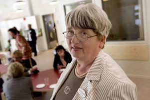 ANSVARIG. Förskolechef Anne-Christine Andenius som även har hand om Svangårdens förskola fanns på plats på invigningen.