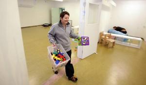 Ny utmaning. Mia Axner har bytt sin gamla förskola i Hamrånge mot Smultronstället som öppnar på måndag.