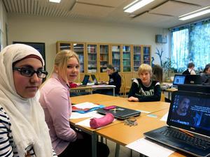 Ayysha Badra, Louise Åslund och Johan Nydahls uppgift är att försöka driva opinion i media.