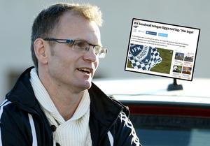 Kenneth Kile dementerar uppgifterna om att IFK Sundsvall ska börja om i division 6.