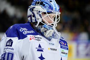 Henrik Haukeland räddade en poäng borta mot Skellefteå.
