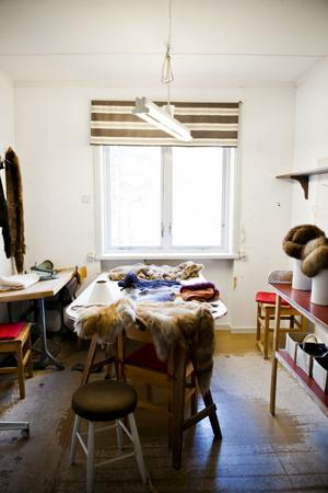 I de här rummen vistades löshästarna, som arbetarna kallades förr på sågverket, de som kom och jobbade måndag till lördag.